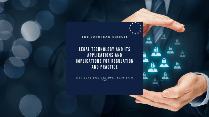 Legal technology and its applications and implications for regulation and practice